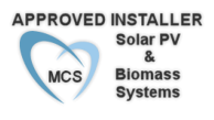 MCS Approved Installer. Biomass & Solar PV